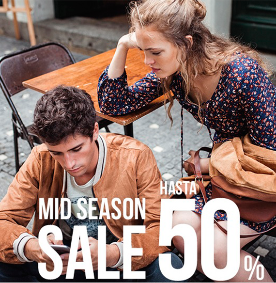 SPRINGFIELD. MID SEASON SALE HASTA 50%.