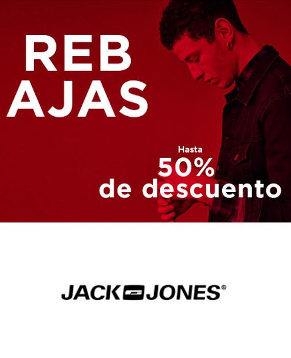 JACK & JONES - HASTA EL 50%