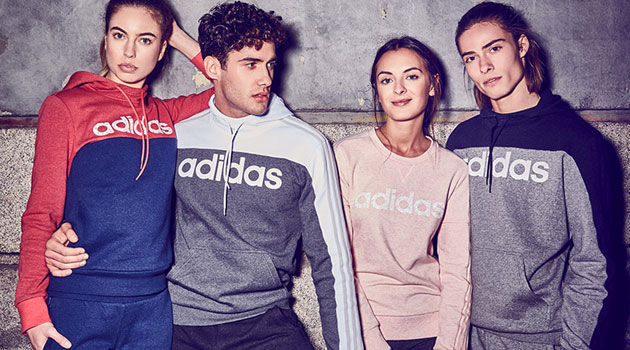 Sudaderas de Adidas en Décimas
