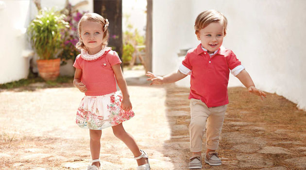 Colección Mayoral de ropa infantil