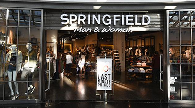 Tienda Springfield en AireSur