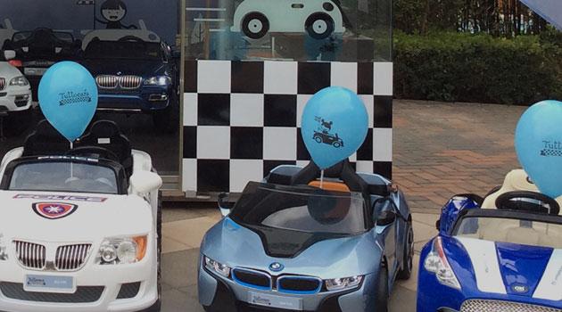 coches-niños-centro-comercial