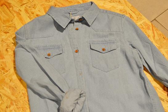 Camisa vaquera total look Shana