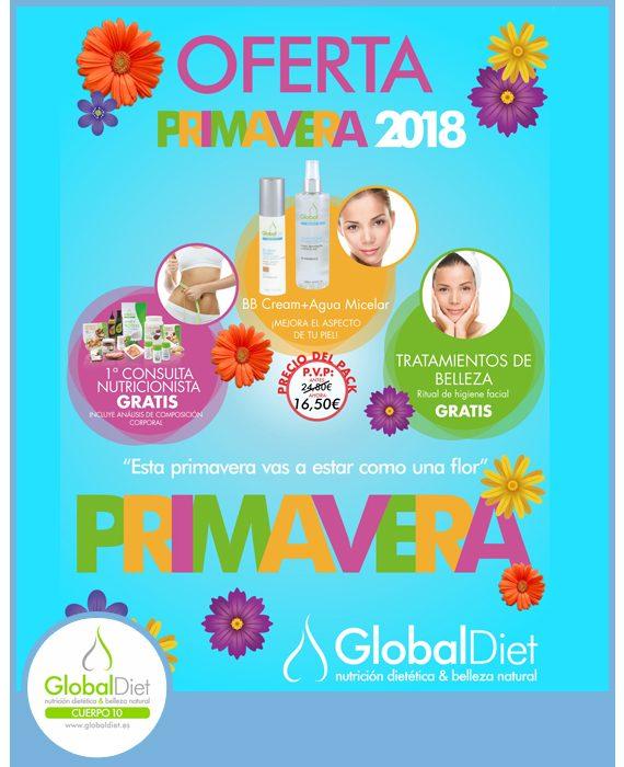 GLOBAL DIET - OFERTA PRIMAVERA 2018