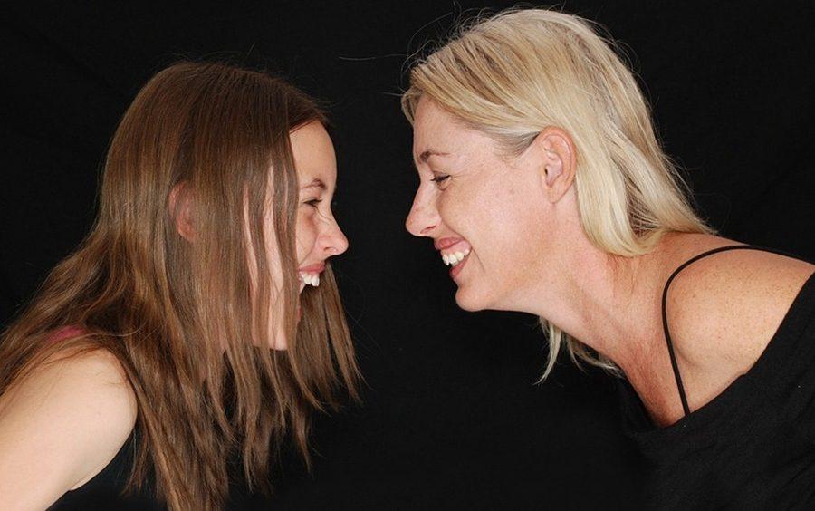 Foto de madre e hija