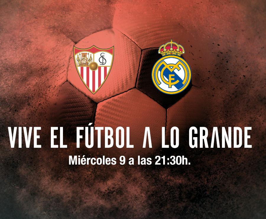 Partido de fútbol Sevilla - Real Madrid