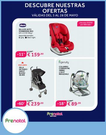 Prenatal Catálogo de descuentos de mayo