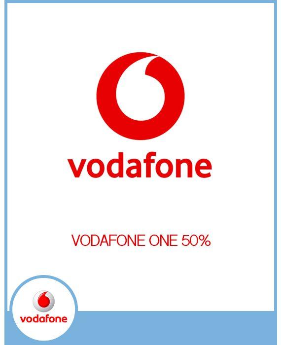 VODAFONE - CONTRATA VODAFONE ONE  AL 50%.
