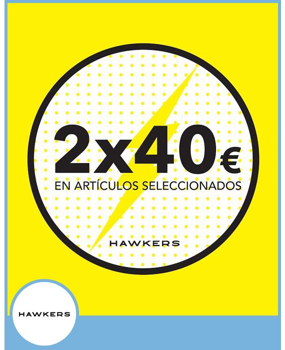 HAWKERS - 2 GAFAS POR 40€ EN ARTÍCULOS SELECCIONADOS