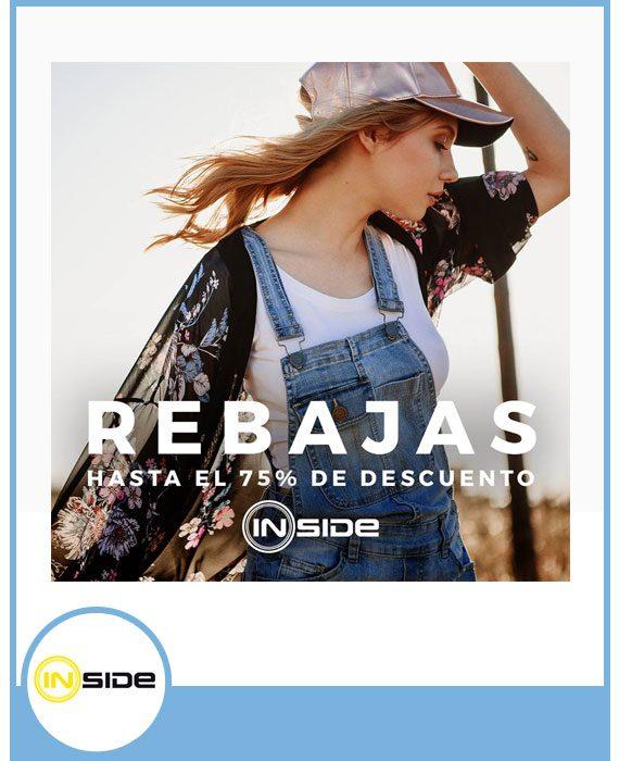 INSIDE - DESCUENTOS DE HASTA EL 70%