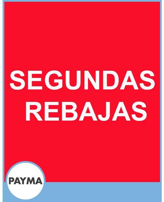 PAYMA - SEGUNDAS REBAJAS.