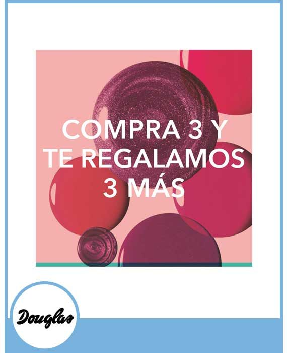 DOUGLAS - COMPRA 3 Y TE REGALAMOS 3 MÁS. DOUGLAS BEAUTY FLASH.