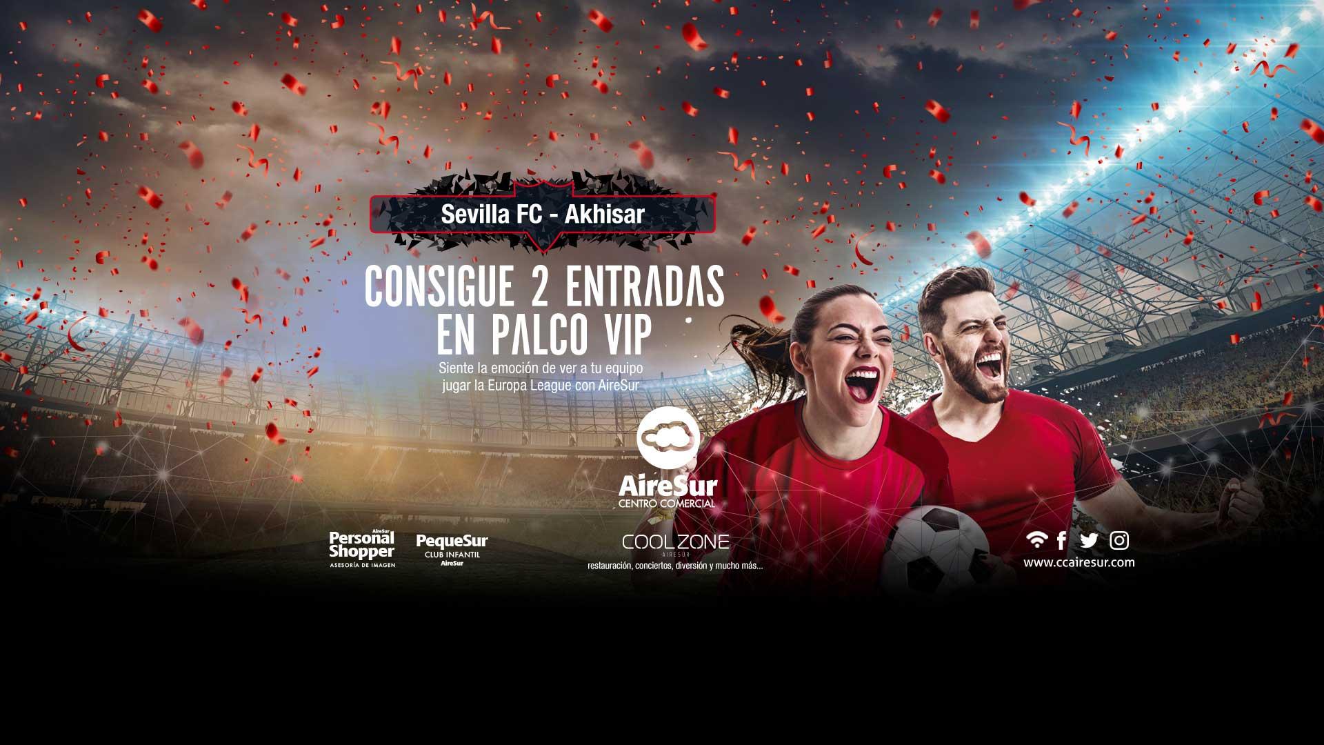 Sorteo entradas Sevilla FC AireSur
