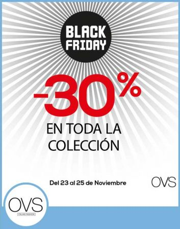 OFERTA OVS AIRESUR BLACK FRIDAY