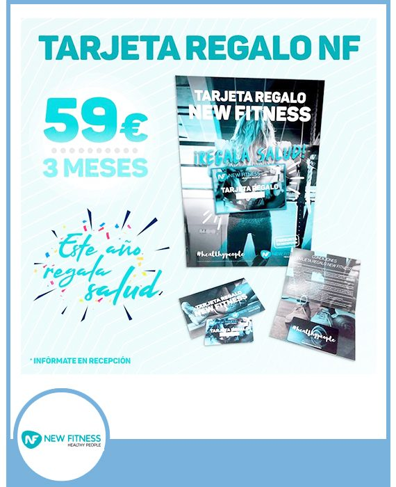 NEW FITNESS - 59 € TRES MESES