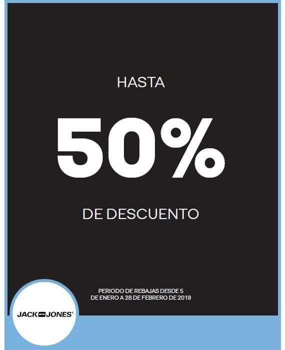 JACK & JONES - HASTA 50%
