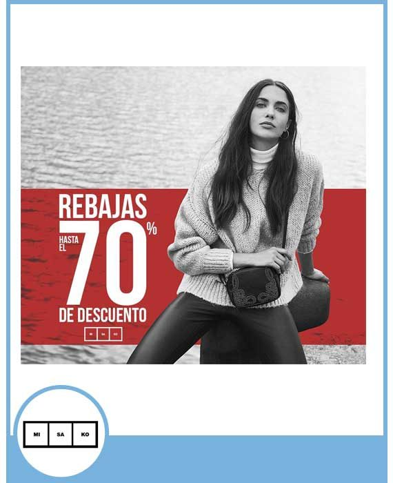 MISAKO - REBAJAS HASTA EL 70% DE DESCUENTO