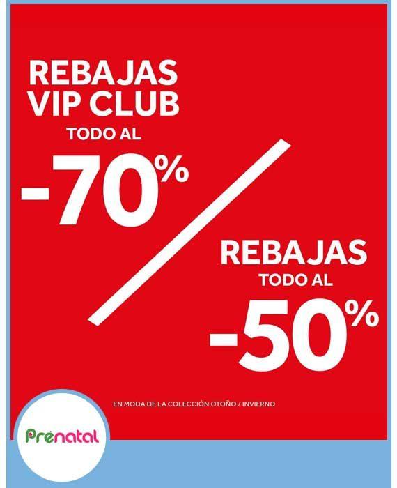 PRENATAL - REBAJAS HASTA 70%