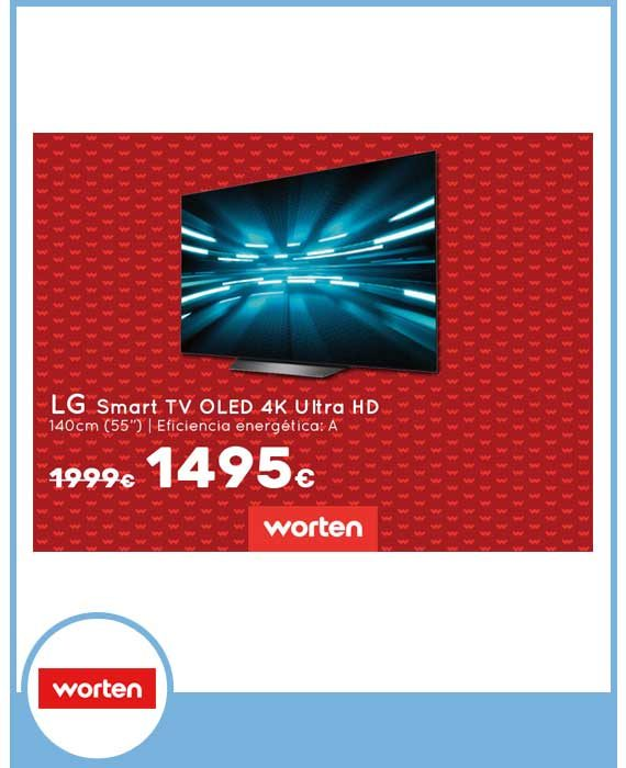 WORTEN - LG Smart TV OLED 4K Ultra HD 1495€