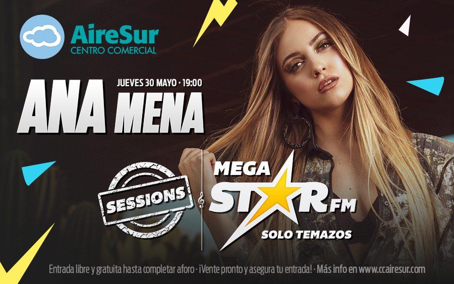 MegaStar Sessions con Ana Mena