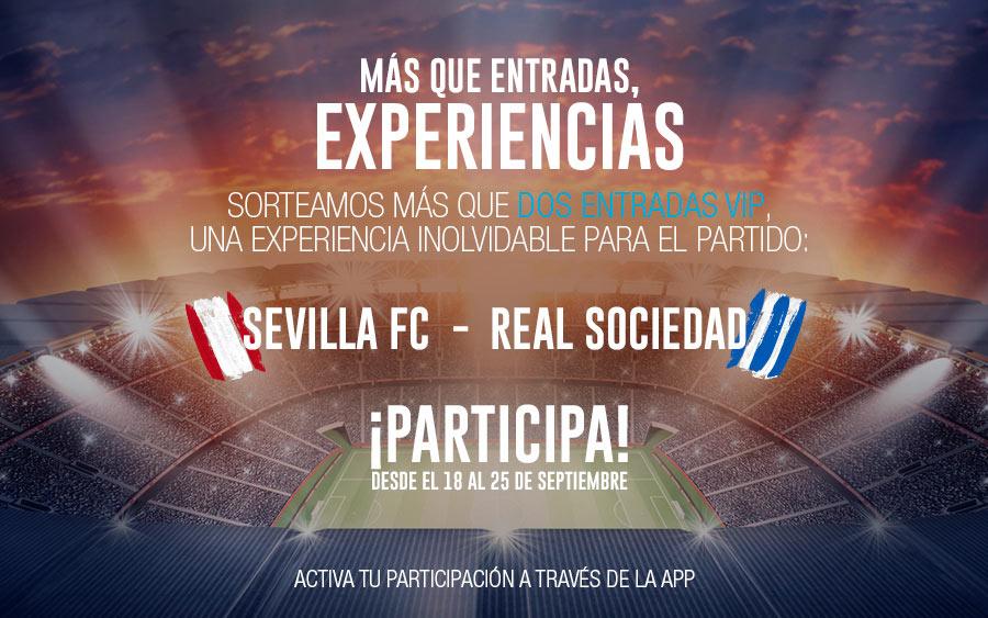 Entradas Sevilla - Real Sociedad - AireSur
