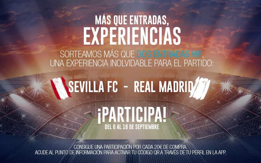 Sorteo Entradas Sevilla-Real Madrid