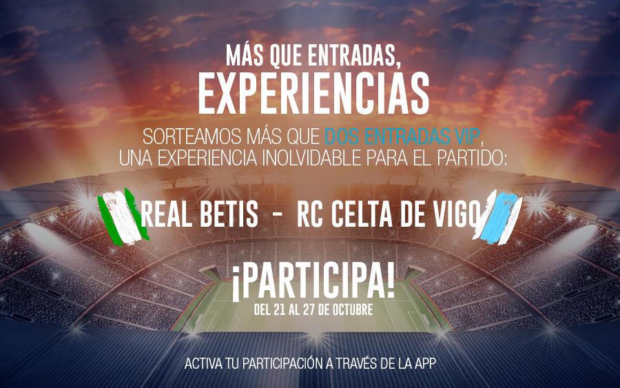 Entrada VIP Betis