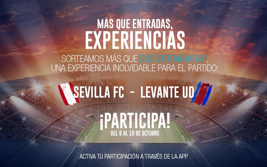 sorteo entradas VIP Sevilla Levante