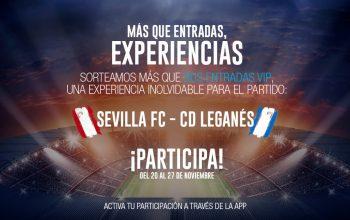 sorteo entradas Sevilla FC - CD Leganes