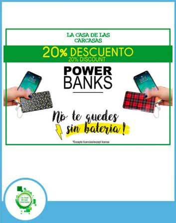 20 % power banks