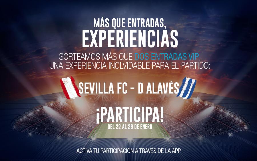 sorteo entradas Sevilla Alavés