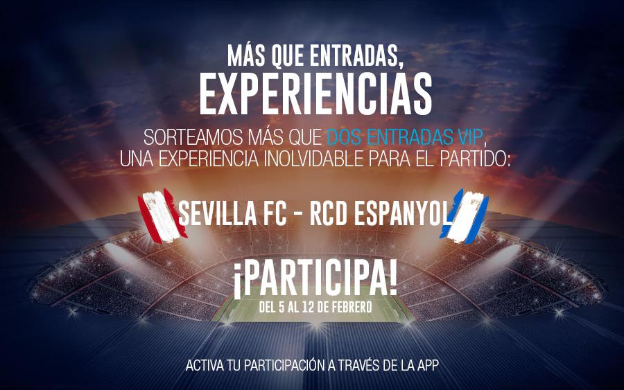 Sorteo entradas Sevilla Español
