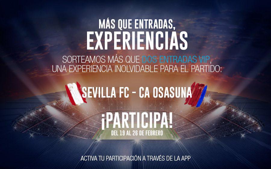 sorteo entradas Sevilla Osasuna