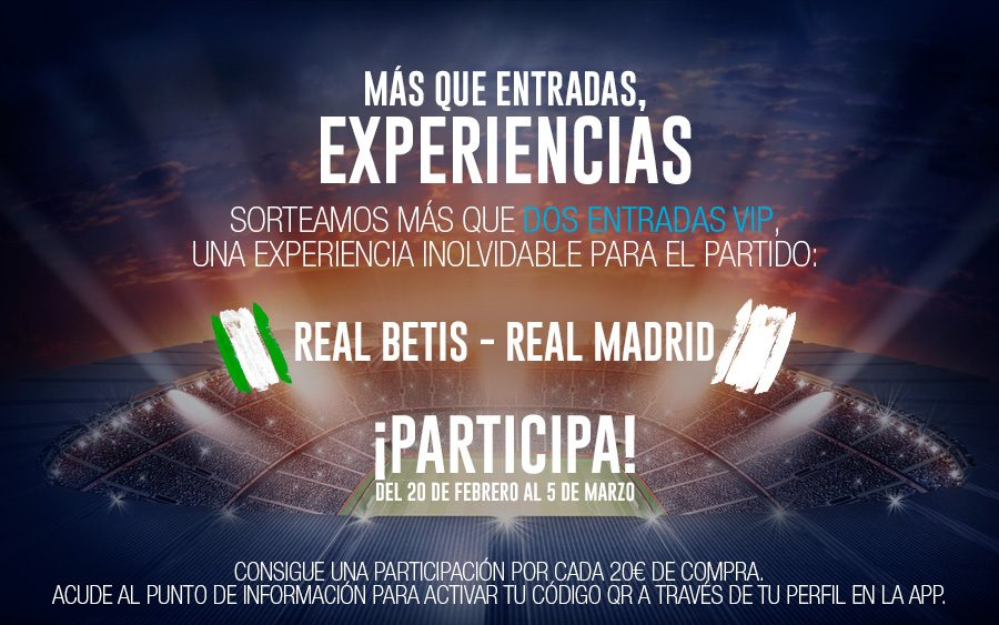 entradas betis real madrid