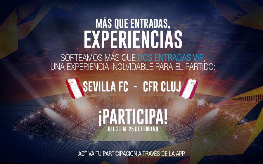 sorteo entradas Sevilla CRF CLUJ