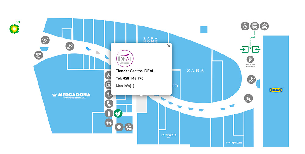 centros ideal mapa airesur