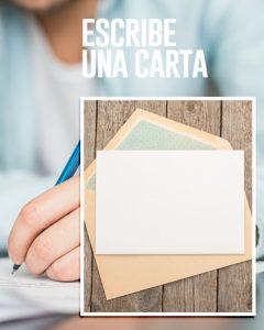 escribe una carta