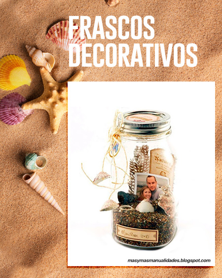 frascos decorativos