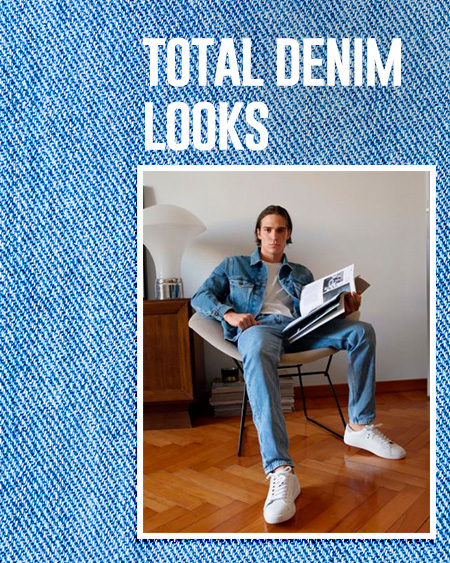 total denim looks