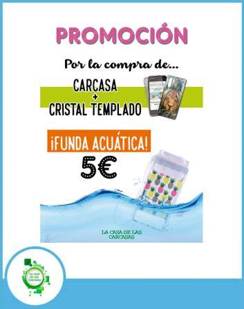 promo carcasa + cristal templado