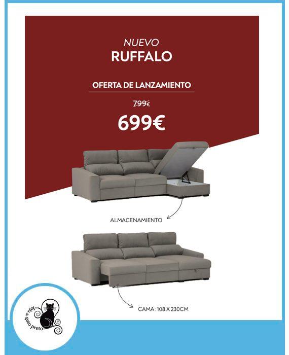 Nuevo Ruffalo por 699€*
