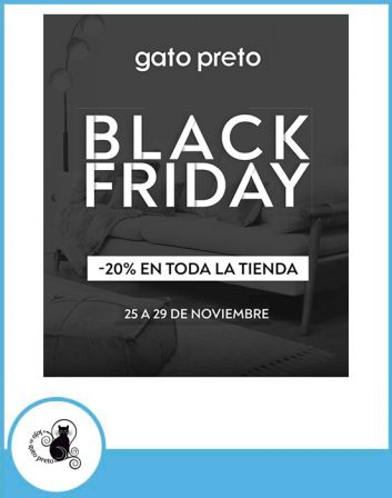 black friday gato preto