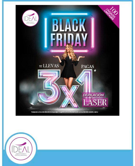 BLACK FRIDAY CENTROS IDEAL 3x1