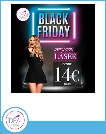 oferta depilación laser ideal